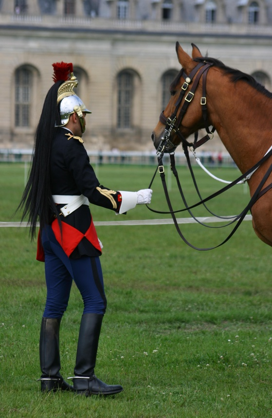 Garde républicaine cheval gendarmerie